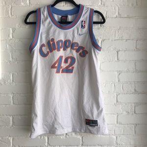 Nike brand RARE LA Clippers 42 Jersey medium